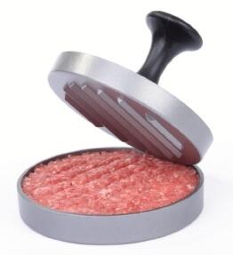 GRÄWE® Hamburgerpressen-Set - jetzt mit neuem Komfortgriff und 25 Blatt Backpapier - 1