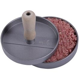Profi Hamburgerpresse - Aluminium beschichtet - Immer perfekte Burger - 10 Jahre Garantie - Mr Grill Qualitätsprodukt - 1