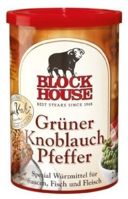 Block House - Grüner Knoblauch Pfeffer - 200 GR - 1