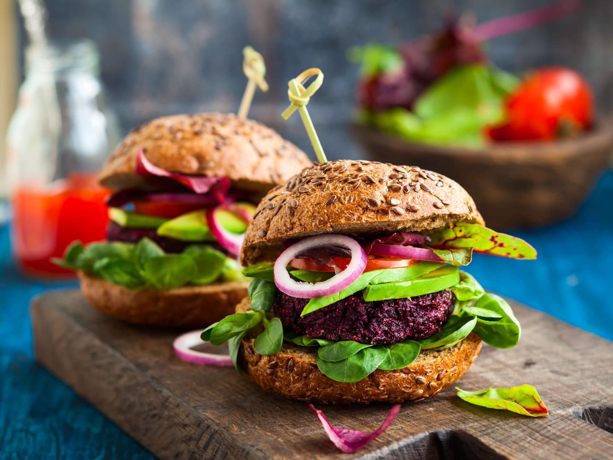 Der Avocado Burger Leckeres Und Schnelles Rezept