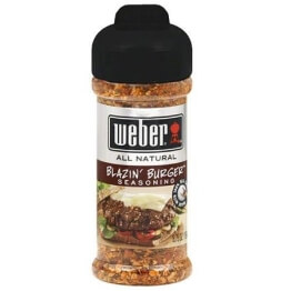 Weber USA - Blazin' Burger Seasoning 164g - 1
